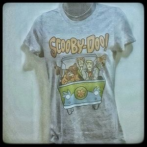 Tops - New with tags. Scooby-Doo grey tee-shirt.